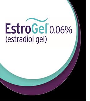 EstroGel 0.06% (estradiol gel) One Pump. One Arm. Once A Day.